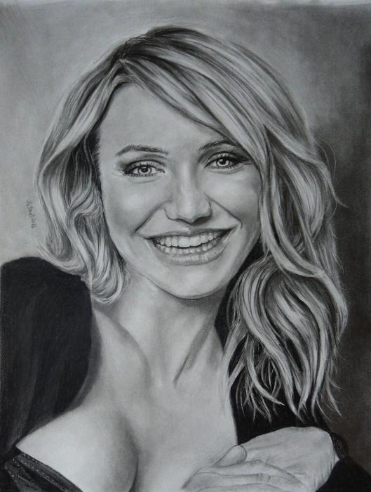 Cameron Diaz by Mobee219